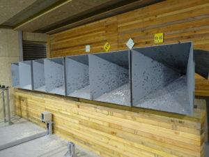 Mur piège à balles Monterau